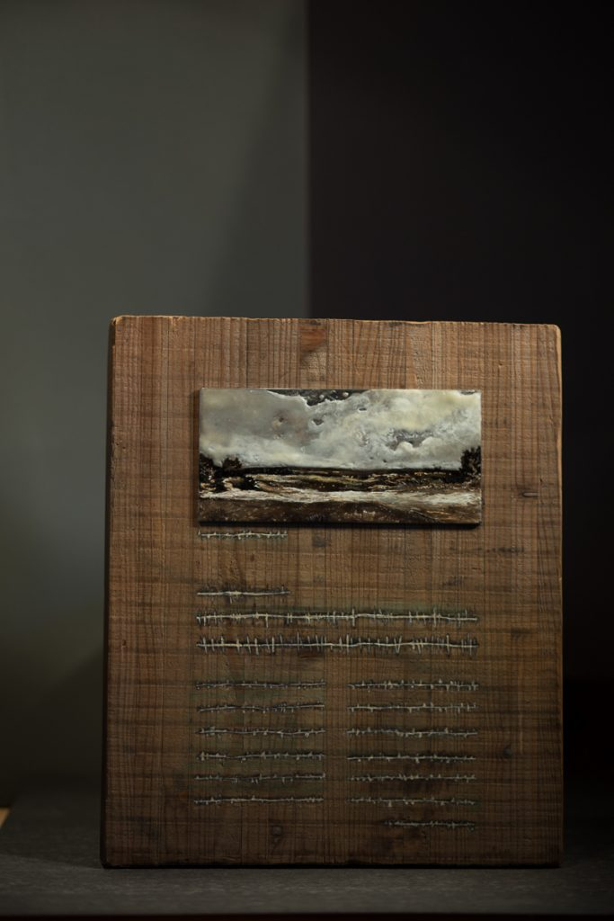 Prayer - Encaustic Art - Stein Frayman