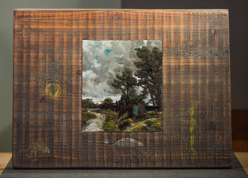 Wandering series - encaustic art - stein frayman