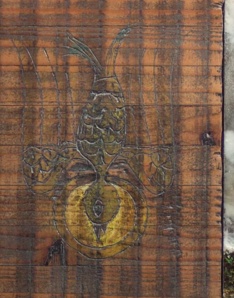 Wanderlust - detail holy bird - Stein Frayman